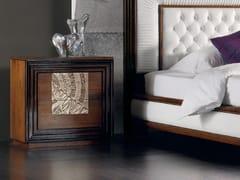 Comodino foglia argento con cassettiÉTOILE NIGHT | Comodino con cassetti - CANTIERO