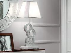 Lampada da comodino foglia argentoÉTOILE NIGHT | Lampada da comodino foglia argento - CANTIERO