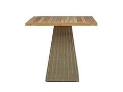 Tavolo da giardino quadrato GIPSY | Tavolo quadrato - Gipsy