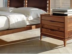 Comodino in legno con cassettiM-116 | Comodino - DALE ITALIA