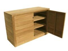 Mobile contenitore da giardino in legnoFUGU   Mobile contenitore da giardino - IL GIARDINO DI LEGNO