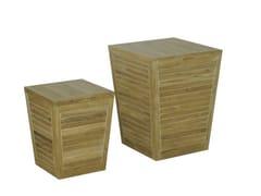 Mobile contenitore da giardino in legnoOXY   Mobile contenitore da giardino in teak - IL GIARDINO DI LEGNO
