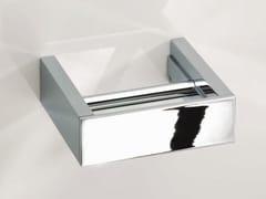 Portarotolo in metallo cromato BK TPH5 - Brick