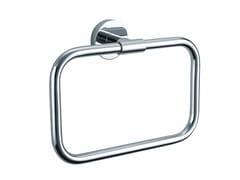 Porta asciugamani ad anello in metallo cromato BA HTR - Basic