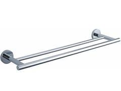 Porta asciugamani a barra in metallo cromato BA HTD65 - Basic