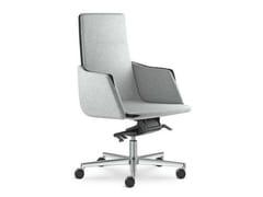 Poltrona ufficio direzionale girevole con braccioli con schienale medio HARMONY | Poltrona ufficio direzionale ad altezza regolabile - Harmony