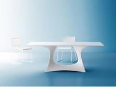 Tavolo da giardino rettangolare in acciaio CORAL REEF | Tavolo da giardino rettangolare - Coral Reef