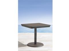 Tavolino da giardino quadrato in ghisa PAPAYA | Tavolino da giardino quadrato - Papaya
