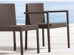 SAINT TROPEZ | Sedia da giardino con braccioli