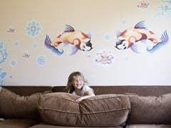 Adesivo da parete a motivi Pellicole per la decorazione murale - Design