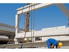 Trave prefabbricata in cemento armato precompressoTRAVE TST-TSL - PREMAC PREFABBRICATI
