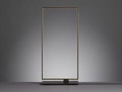 Lampada da tavolo a LED a luce diretta e indiretta in metallo SQUARE 20 - Square