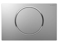 Placca di comando per wc in acciaio inoxSigma10 - GEBERIT ITALIA