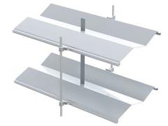 Frangisole impacchettabile scorrevole in alluminio AR 92 Z ECN® | Frangisole -