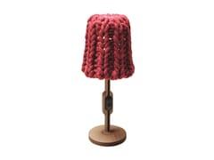 Lampada da tavolo in lana GRANNY | Lampada da tavolo - Granny