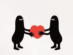 I GIVE YOU MY HEART | Decorazione adesiva