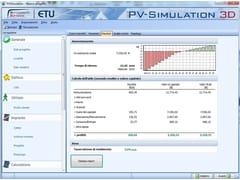 Calcolo impianto solare termico, fotovoltaicoPV-Simulation 3D - EDILCLIMA