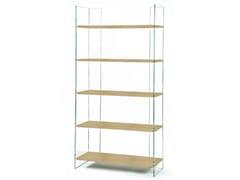 Libreria in vetro temperatoEX LIBRIS - ZEN 12 - ADENTRO