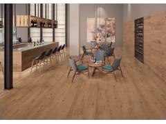 Pavimento/rivestimento ecologico ingelivo effetto legno EVOKE SAND - Evoke