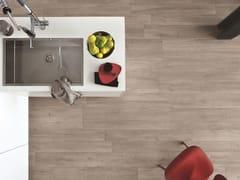Ragno, WOODLIVING Pavimento in gres porcellanato effetto legno
