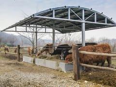 SELVOLINA, TETTOIA ALPINA Tettoia per riparo e alimentazione bestiame
