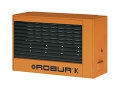 Generatori d'aria calda modulanti pensili a gas SERIE K -