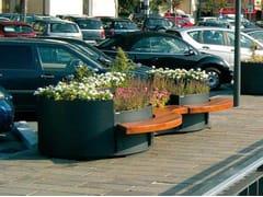Metalco, FLÒ | Fioriera per spazi pubblici  Fioriera per spazi pubblici