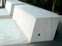 Metalco, ANASTASIO Panchina in pietra ricostruita