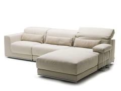 Divano letto reclinabile con chaise longue JOE | Divano con chaise longue - Joe
