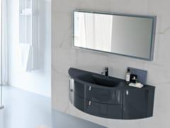 Mobile lavabo laccato con cassetti COMP MFE16 - My Fly Evo