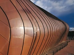 KME Architectural Solutions, TECU® Classic Rame naturale per rivestimenti di coperture e facciate