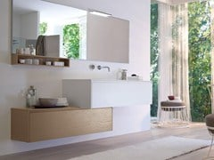 Mobile lavabo laccato in frassino COMP MSP06 - My Seventy Plus