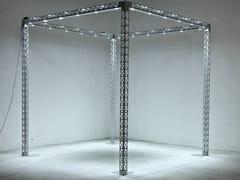 Struttura tralicciata per stand fieristici con LEDEXPOLIGHT - SELVOLINA
