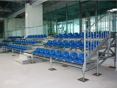 Sistema modulare per palco e tribuna in metalloMARATHON 3 GRADONI - SELVOLINA
