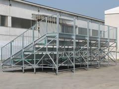 Sistema modulare per palco e tribuna in metalloMARATHON 5 GRADONI - SELVOLINA