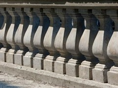 Balaustra in cemento armatoBalaustra quadra - F.LLI MARESCA