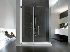Box doccia rettangolare in acciaio HAND | Box doccia - Hand
