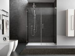 Box doccia rettangolare in acciaio HAND06 - Hand