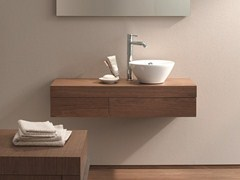 Mobile lavabo sospeso con cassetti FOGO | Mobile lavabo - Fogo