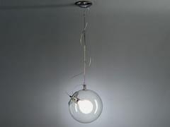Lampada a sospensione fluorescente in metalloMICONOS   Lampada a sospensione - ARTEMIDE