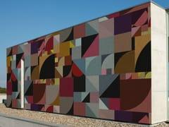 Wall&decò, BAUHAUS Carta da parati geometrica per esterni
