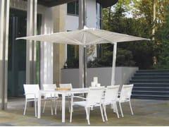 Ombrellone orientabile in alluminio ISCHIA BIANCO - Pensili
