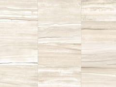 Pavimento/rivestimento in gres porcellanato effetto marmo per interni ed esterniSTONE MIX Striato White - ITALGRANITI