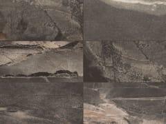 Pavimento/rivestimento in gres porcellanato effetto marmo per interni ed esterniSTONE MIX Ardesia Black - ITALGRANITI