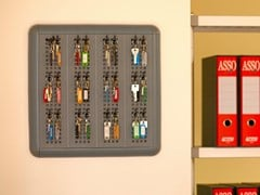 Modulo a muro portaoggetti in plastica riciclata PARETELLA ECO 40 -