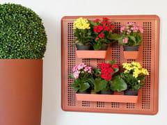 Modulo a muro portaoggetti in plastica riciclata PARETELLA ECO 60 -