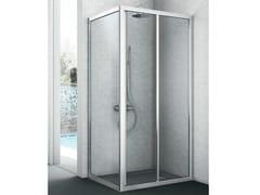 Box doccia con lato fisso EASY | Box doccia - Cristalli
