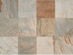 Italgraniti, STONE D Quarzite Multicolor Pavimento/rivestimento in gres porcellanato a tutta massa effetto pietra