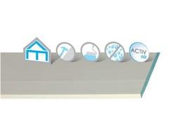 Lastra in gesso additivato con fibre di vetro Habito Hydro Activ'Air® - Habito Activ'Air®