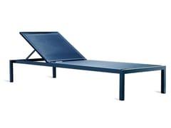 Lettino da giardino reclinabile in VinytexCLUB | Lettino da giardino - BIVAQ